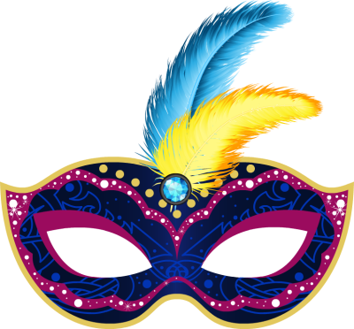 Mardi Gras Carnival Mask Png Clipart