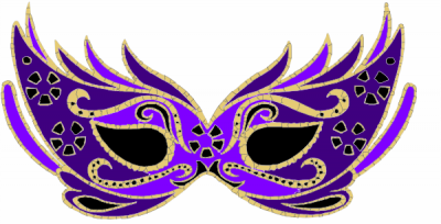 Purple Masquerade Mask Pictures