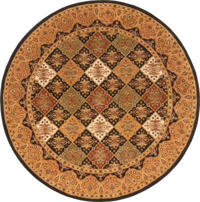 Round, Pattern, Wonderful, Carpet, Square, Png