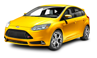 Transparent Ford Focus Yellow Car, Auto, Brake, Model PNG Images