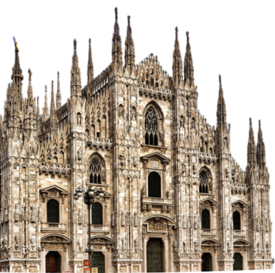 Cattedrale Milano Png PNG Images