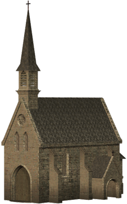Church, Witch House, Villa, Britain, Building, Cathedral, Clipart Graphics