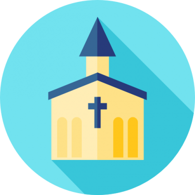 Old Church Icon Png PNG Images