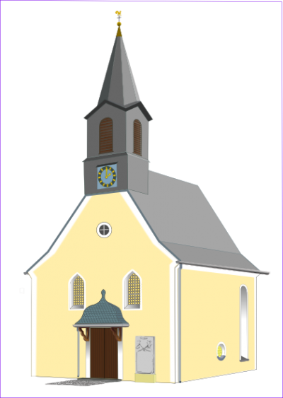 Village Church Clip Art At Pictures
