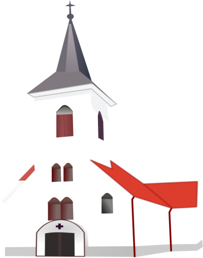 White Church Clipart Picture