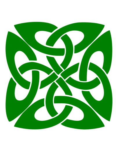 Clipart Green Celtic Knot Photo