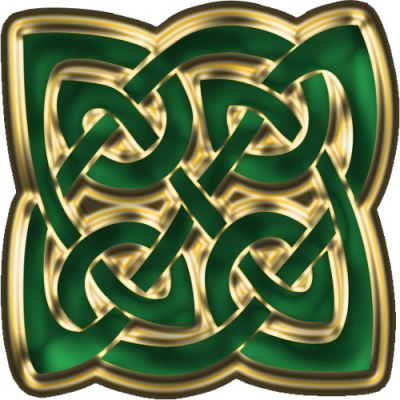 Green Celtic Knot Png PNG Images