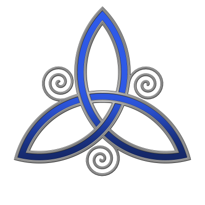 Blue Celtic Symbol For Son Tattoo Png