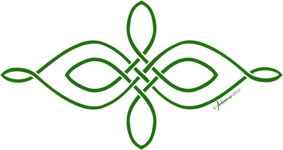 Simple Horizontal Celtic Knot Png PNG Images