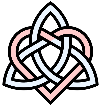 Triquetra Heart Knot Png Photo PNG Images