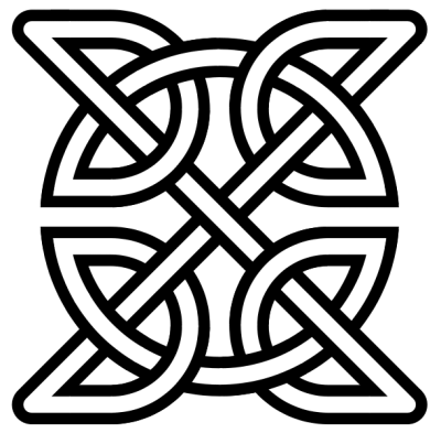 Celtic Knot Insquare Transp Celtic Tattoos Png PNG Images