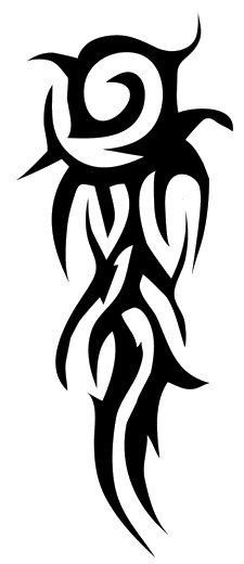 Tribal Arm Tattoos Clipart