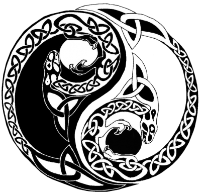 Yin Yang Tattoos Images   PNG Images