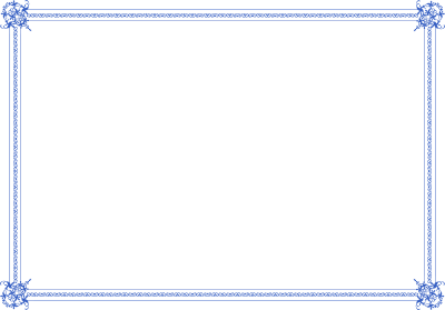 Light Ccertificate Border Png PNG Images