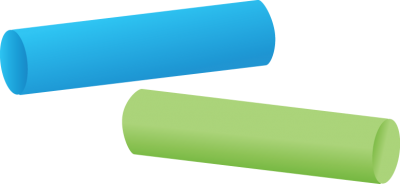 Chalk Green And Blue Png