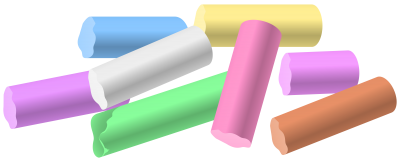 Chalk Pieces Png Clipart PNG Images