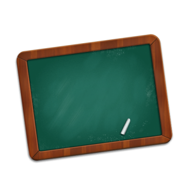 Chalkboard Icon Clipart
