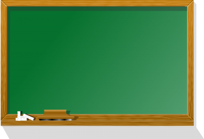 Green School Board Chalk Pictures PNG Images