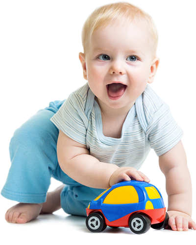 Sweet Baby Playing With The Car, Children Png Free Download PNG Images