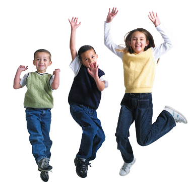 Happy, Smiling, Jumping Children Transparent Background Download PNG Images