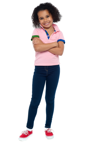 Girl Posing Children Background Clipart Free PNG Images