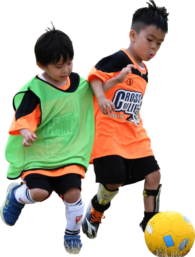 Playing Football Children Background Png Download, Fun, Happiness PNG Images