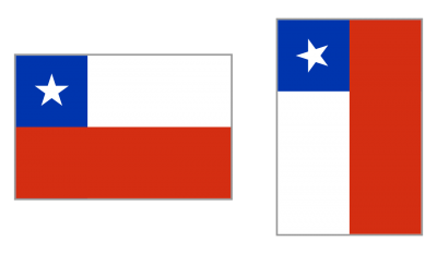Chile Flag Clipart PNG Photos