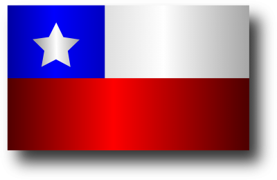 Chile Flag Background PNG Images