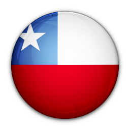 Chile Flag Clipart PNG File