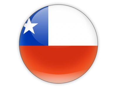 Chile Flag Simple PNG Images
