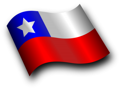 Chile Flag Cut Out Png PNG Images