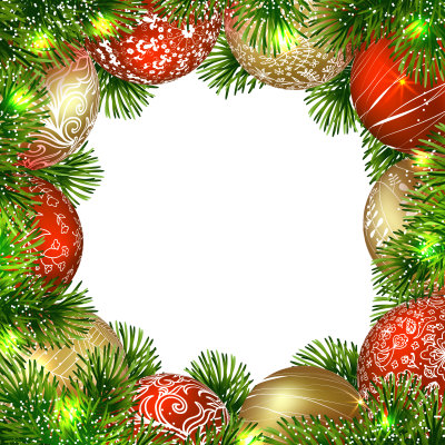 High-quality Christmas Border Background Png Picture PNG Images