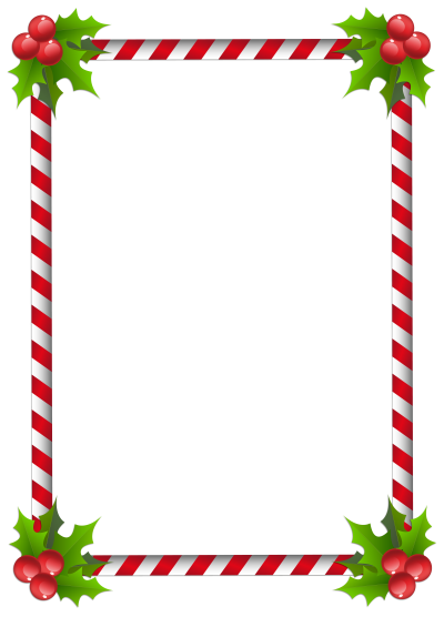 Square Cute Christmas Border Background Hd Png PNG Images