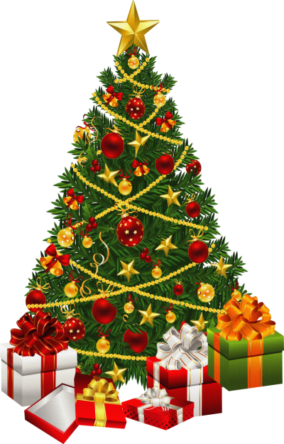 Christmas Tree Clipart Transparent