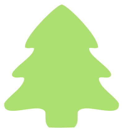 Simple Christmas Tree PNG Images