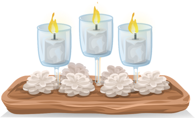 Church Candles, Flame, Light, Christ High Quality PNG