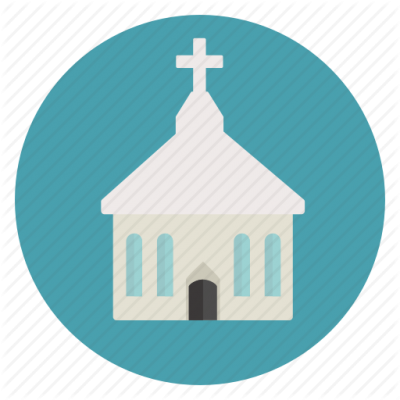 Church Icon Clipart PNG Images