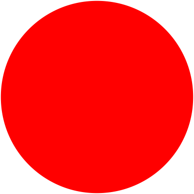 Red Simple Circle Photos PNG Images