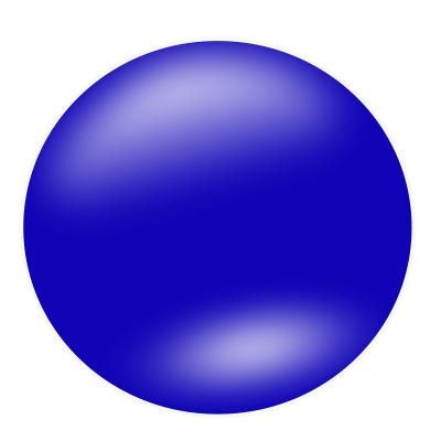 Blue Circle Clipart Transparent