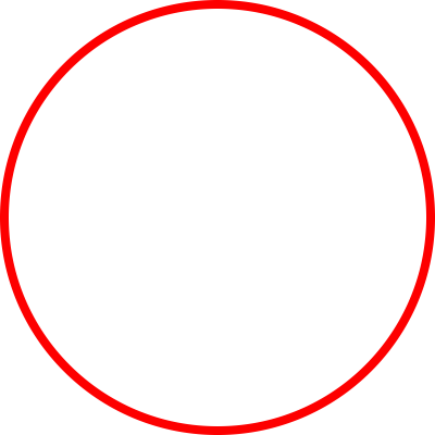 Red Circle Free Transparent