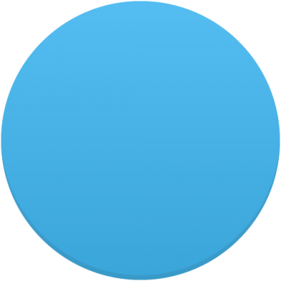 Circle Picture Blue PNG Images