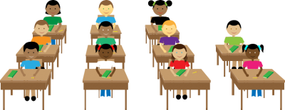 Mixed Race Student Classroom Png Free PNG Images