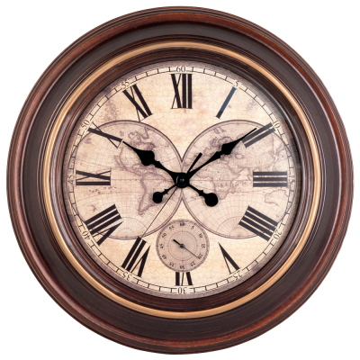 Vintage Wall Clock HD Photo Png PNG Images
