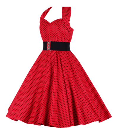Red Women Dress Clothes Clipart Transparent PNG Images