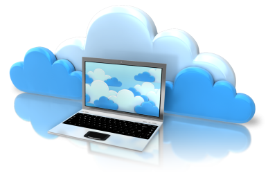 Cloud Server Laptoop Image