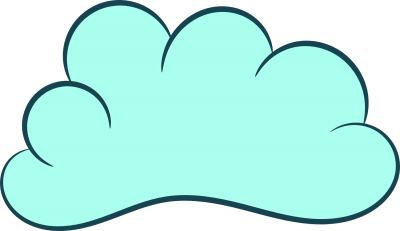 Clouds Green Cartoon Clipart Photo PNG Images