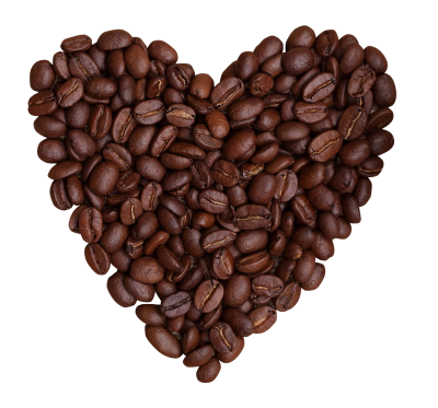 Coffee Heart Free PNG PNG Images