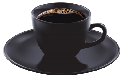 Black Coffee Cup HD Image PNG Images