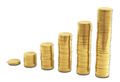 Coin Stack Clipart HD PNG Images