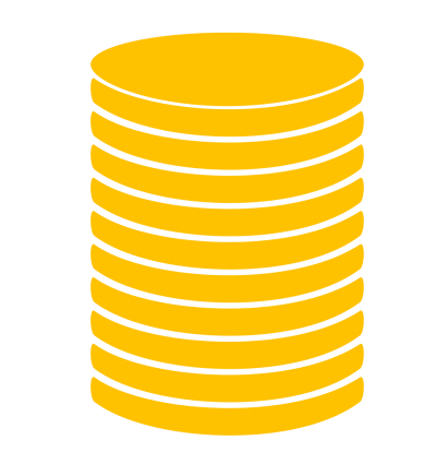 Coin Stack PNG Icon PNG Images